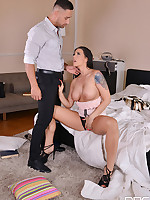 Anal Creampie Relaxation - Threesome Makes Busty Milf Moan free photos and videos on HandsonHardcore.com