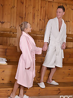 Hotel Califuckia - Horny Couple Fucks in Hotel Spa free photos and videos on HandsonHardcore.com