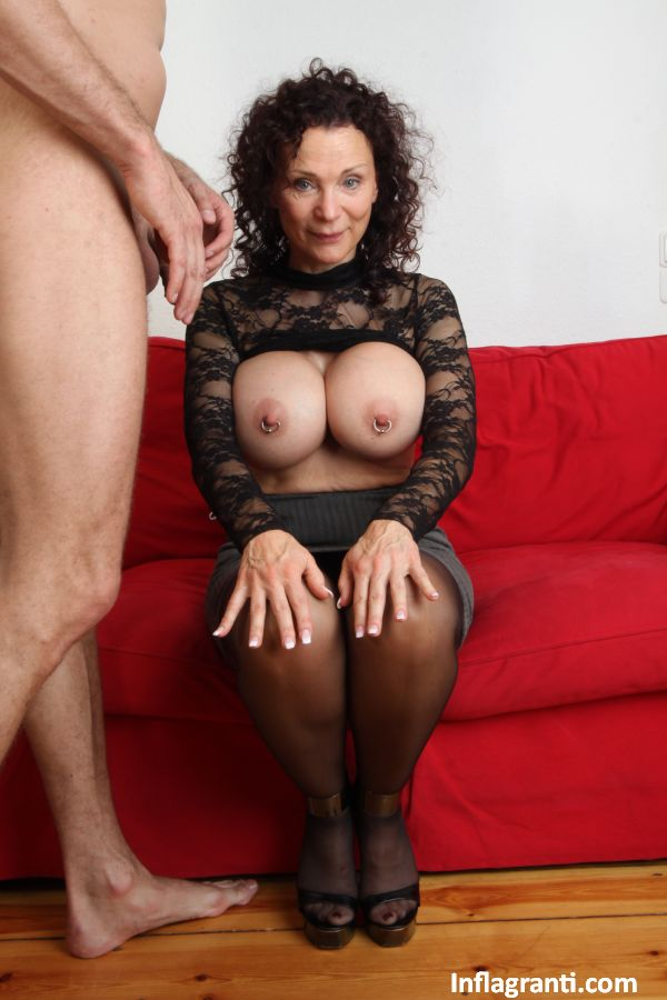 Huge titted German mature lady Sexy Susi