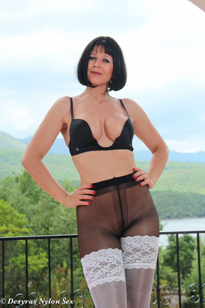 Milfs in wolfords pantyhose